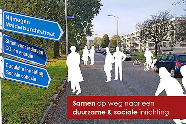 Rapid Circular Contracting bij aanpak Malderburchtstraat